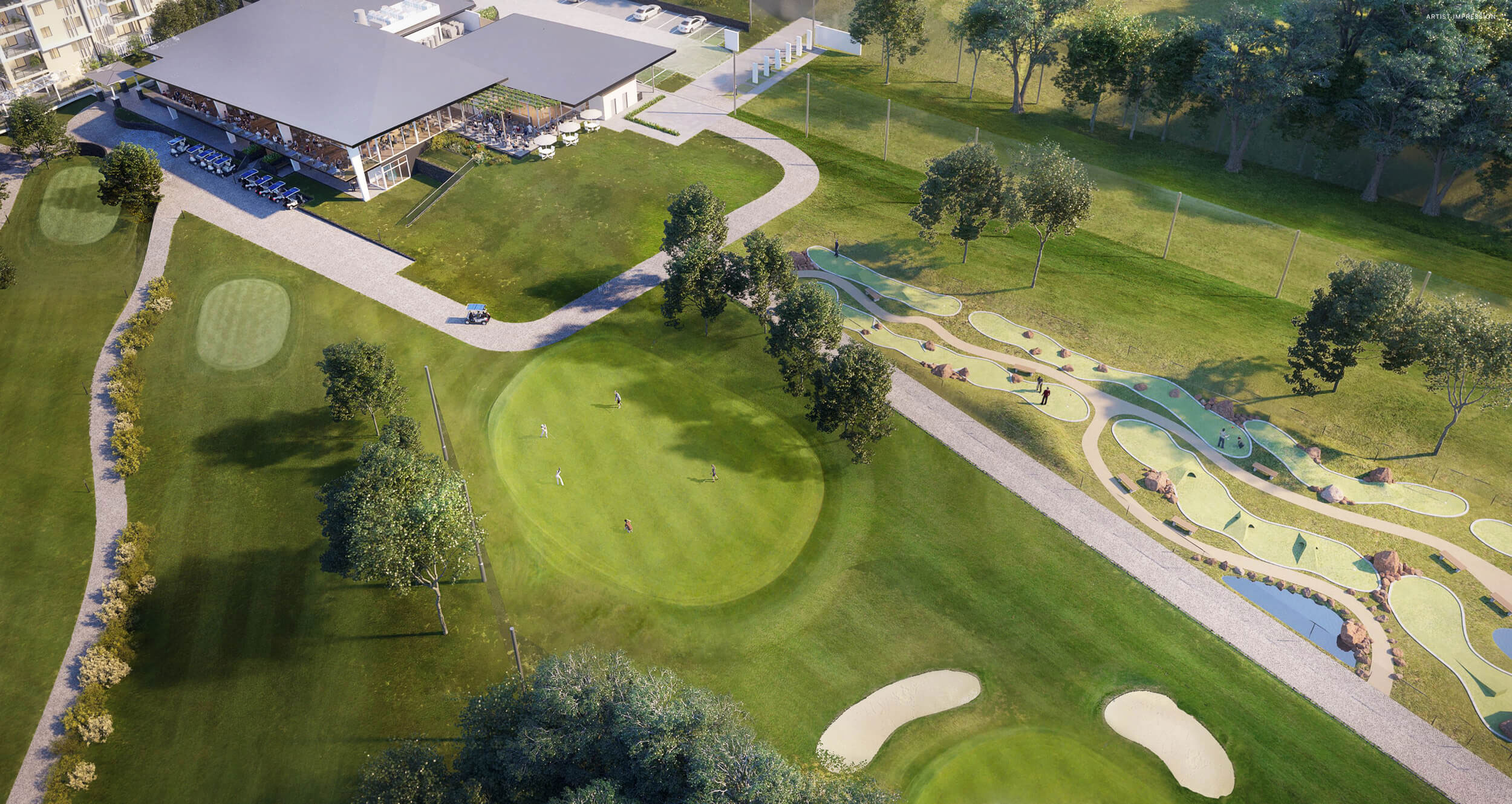 The New Pacific Golf Club