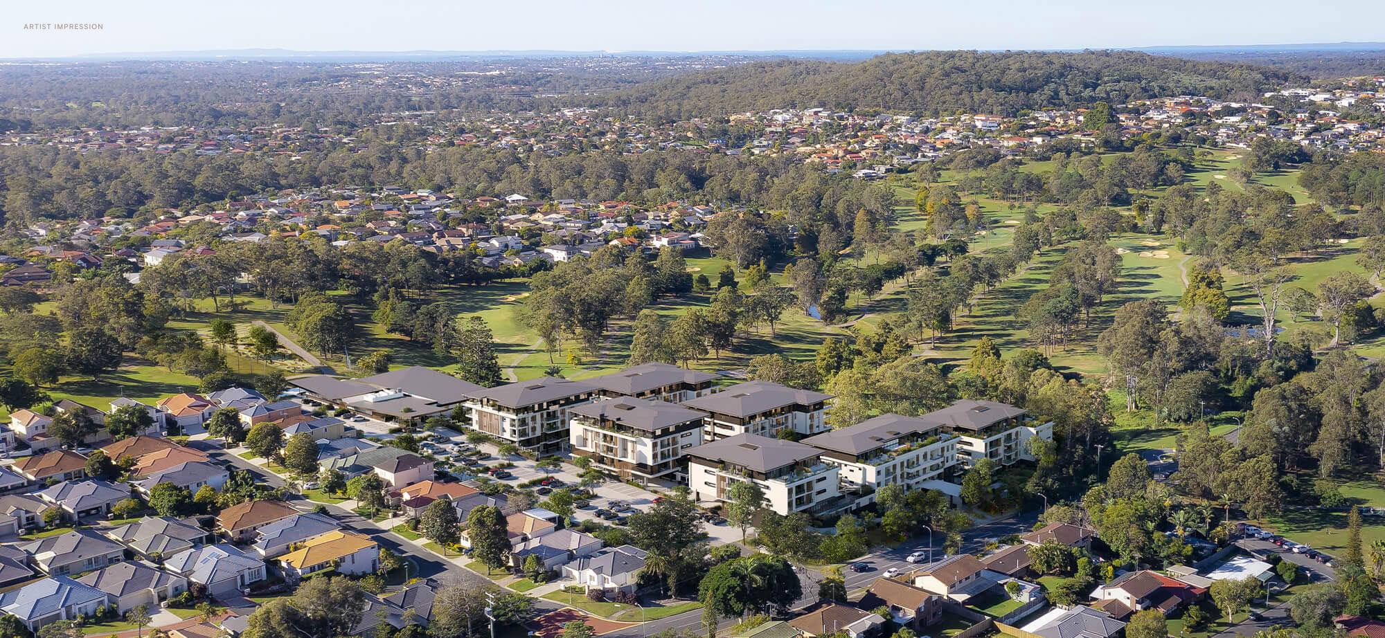 Fairway Carindale Golf Course Retirement Community